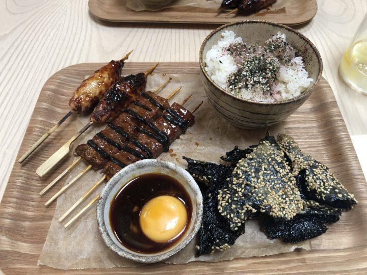 Kushi-ya lunch time offer